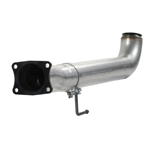"aFe Power Atlas 4"" Aluminized Steel Exhaust Race Pipe For 07.5-10 GM Diesel Truck V8-6.6L"