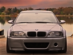 Replacement Stealth Black Front Grilles - E90 Sedan / E91 Wagon / 3 Series