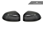 Replacement Carbon Fiber Mirror Covers - BMW F25 X3 / F26 X4 / F15 X5 / F16 X6