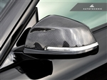Replacement Carbon Fiber Mirror Covers - BMW E84 X1 / F20 2-Series / F30 3-Series / F32 / F36 4-Series
