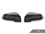 Replacement Carbon Fiber Mirror Covers - BMW F07 / F10 / F11 5-Series LCI | F06 / F12 / F13 6-Series LCI | F01 / F02 7-Series LCI