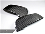 Replacement Carbon Fiber Mirror Covers - BMW F32 4-Series Coupe / F34 3-Series GT / F35 4-Series GT