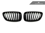 Replacement Stealth Black Front Grilles - F22 2 Series Coupe