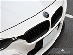 Replacement Stealth Black Front Grilles - F30 Sedan / F31 Wagon / 3 Series