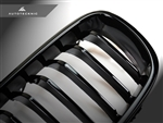 Replacement Gloss Black Front Grilles - F30 Sedan / F31 Wagon / 3 Series