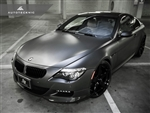 Replacement Stealth Black Front Grilles - E63 Coupe / E64 Cabrio / 6 Series & M6