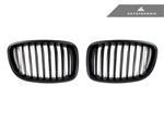 Replacement Stealth Black Front Grilles - F07 5 Series Gran Turismo