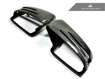 Replacement Carbon Fiber Mirror Covers - Mercedes-Benz A / B / C / E / S / CLA / CLS / CL / GLK Class
