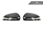Replacement Carbon Fiber Mirror Covers - Mercedes-Benz W205 C-Class / W222 S-Class