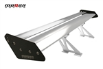 Megan Racing Silver+Back GT Type Aluminum Spoiler