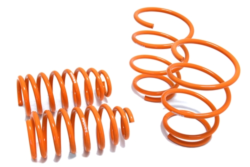 """MEGAN RACING LOWERING SPRINGS 03-06 TOYOTA COROLLA ABOUT 2/"""" DROP FRONT /& REAR"""