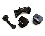 Megan Racing Reinforced Engine Motor Mounts Set For 95-07 Subaru Impreza WRX/STI GD/GC 6MT ONLY