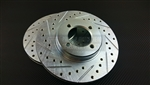 P2M Toyota AE86 GTS Front Brake Rotors