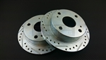 P2M Toyota AE86 GTS Rear Brake Rotors