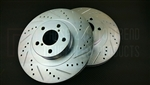 P2M SCION FR-S / SUBARU BRZ FRONT BRAKE ROTORS