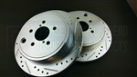 P2M SCION FR-S / SUBARU BRZ REAR BRAKE ROTORS