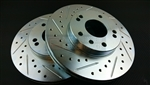 P2M Nissan Z32 (26mm) Front Brake Rotors