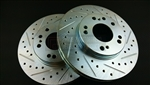 P2M Nissan Z32 (30mm) Front Brake Rotors