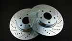 P2M Nissan 350Z / G35 Rear Brake Rotors (Non-Brembo)