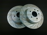 P2M Nissan 350Z / G35 Rear Brake Rotors (Brembo)