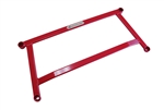 Megan Racing H-Bracket Red Color For 13+ Acura ILX / 2012 Honda Civic 4Dr (Inc. Si)