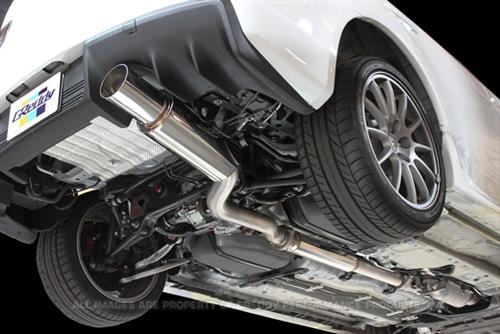 Greddy Lightweight 76mm 3 Single Muffler Revolution Rs Exhaust System For 20082015 Mitsubishi Cz4a Lancer Evolution X: 2015 Lancer Exhaust At Woreks.co