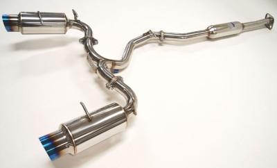 Invidia Exhaust N1 Catback Titanium Burnt Tips 13+ Subaru BRZ Fa20 D-4S GT86